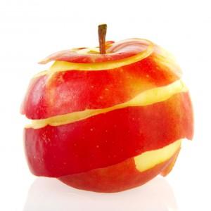 skórki jabłkowe